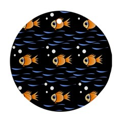 Fish pattern Ornament (Round)
