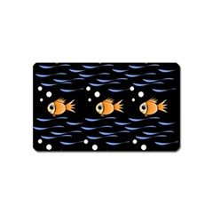 Fish pattern Magnet (Name Card)
