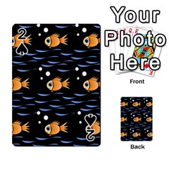Fish pattern Playing Cards 54 Designs
