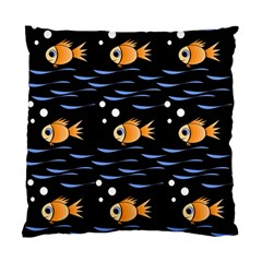 Fish pattern Standard Cushion Case (One Side)