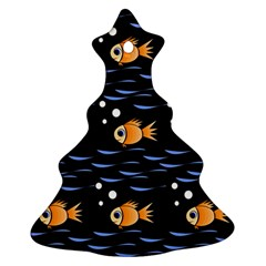 Fish pattern Christmas Tree Ornament (2 Sides)