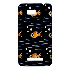Fish pattern HTC One SU T528W Hardshell Case