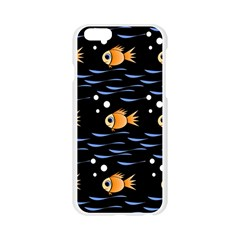 Fish pattern Apple Seamless iPhone 6/6S Case (Transparent)