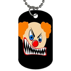 Evil clown Dog Tag (Two Sides)