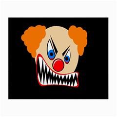 Evil clown Small Glasses Cloth
