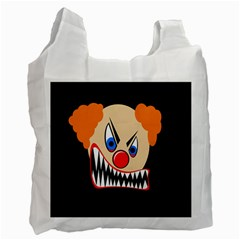 Evil clown Recycle Bag (One Side)