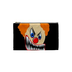 Evil clown Cosmetic Bag (Small)