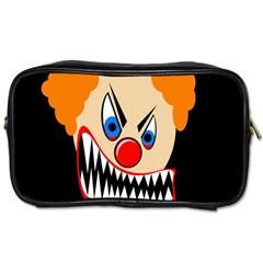 Evil clown Toiletries Bags