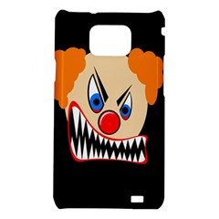 Evil clown Samsung Galaxy S2 i9100 Hardshell Case