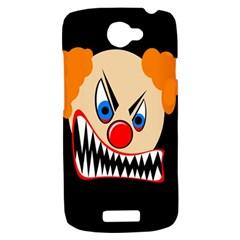 Evil clown HTC One S Hardshell Case