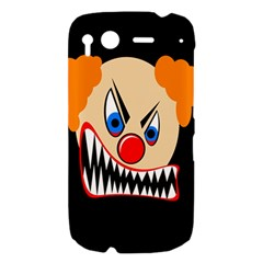Evil clown HTC Desire S Hardshell Case