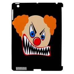 Evil clown Apple iPad 3/4 Hardshell Case (Compatible with Smart Cover)
