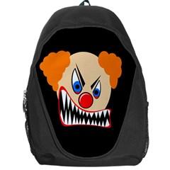 Evil clown Backpack Bag