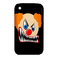 Evil clown Apple iPhone 3G/3GS Hardshell Case (PC+Silicone)