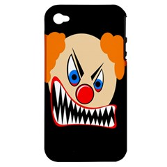 Evil clown Apple iPhone 4/4S Hardshell Case (PC+Silicone)