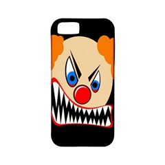 Evil clown Apple iPhone 5 Classic Hardshell Case (PC+Silicone)