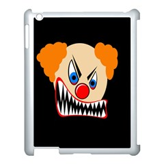 Evil clown Apple iPad 3/4 Case (White)