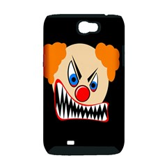 Evil clown Samsung Galaxy Note 2 Hardshell Case (PC+Silicone)