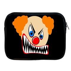 Evil clown Apple iPad 2/3/4 Zipper Cases