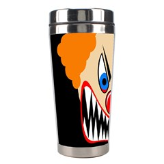 Evil clown Stainless Steel Travel Tumblers