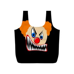 Evil clown Full Print Recycle Bags (S)