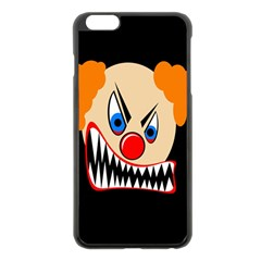 Evil Clown Apple Iphone 6 Plus/6s Plus Black Enamel Case