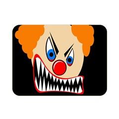 Evil clown Double Sided Flano Blanket (Mini)