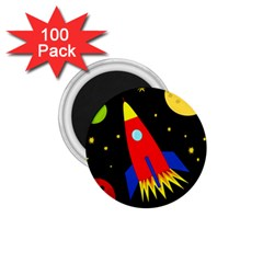 Spaceship 1.75  Magnets (100 pack)