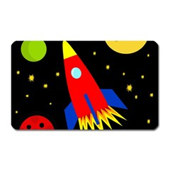 Spaceship Magnet (Rectangular)