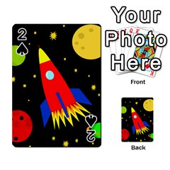 Spaceship Playing Cards 54 Designs