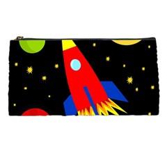 Spaceship Pencil Cases