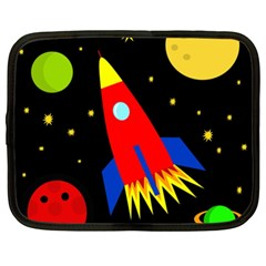 Spaceship Netbook Case (XXL)