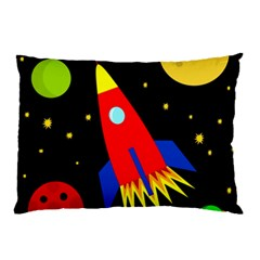 Spaceship Pillow Case (Two Sides)