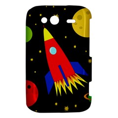 Spaceship HTC Wildfire S A510e Hardshell Case
