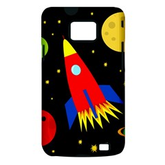 Spaceship Samsung Galaxy S II i9100 Hardshell Case (PC+Silicone)
