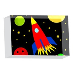 Spaceship 4 x 6  Acrylic Photo Blocks