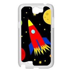 Spaceship Samsung Galaxy Note 2 Case (White)