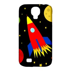 Spaceship Samsung Galaxy S4 Classic Hardshell Case (PC+Silicone)