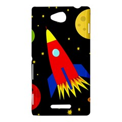 Spaceship Sony Xperia C (S39H)