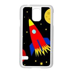 Spaceship Samsung Galaxy S5 Case (White)