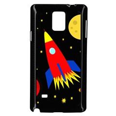 Spaceship Samsung Galaxy Note 4 Case (Black)