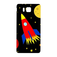 Spaceship Samsung Galaxy Alpha Hardshell Back Case