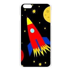Spaceship Apple Seamless iPhone 6 Plus/6S Plus Case (Transparent)