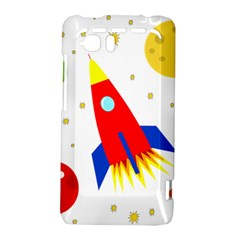 Transparent spaceship HTC Vivid / Raider 4G Hardshell Case