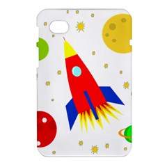 Transparent spaceship Samsung Galaxy Tab 7  P1000 Hardshell Case