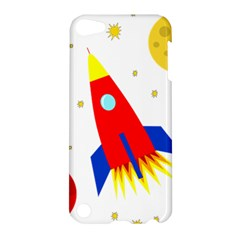 Transparent spaceship Apple iPod Touch 5 Hardshell Case