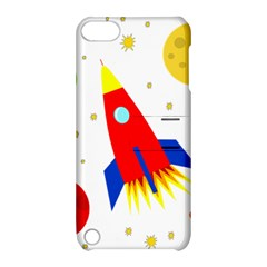 Transparent spaceship Apple iPod Touch 5 Hardshell Case with Stand