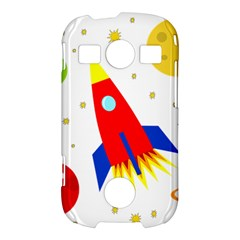 Transparent spaceship Samsung Galaxy S7710 Xcover 2 Hardshell Case