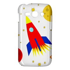 Transparent spaceship Samsung Galaxy Ace 3 S7272 Hardshell Case