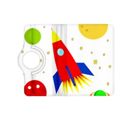 Transparent spaceship Kindle Fire HD (2013) Flip 360 Case